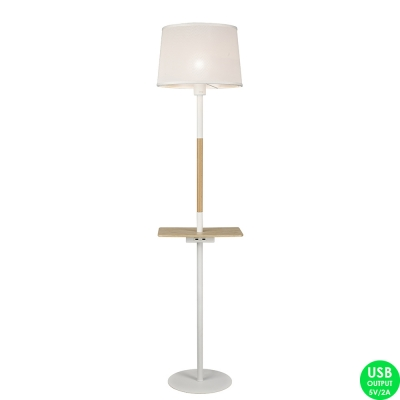 Торшер Mantra Nordica 5465 White/Wood