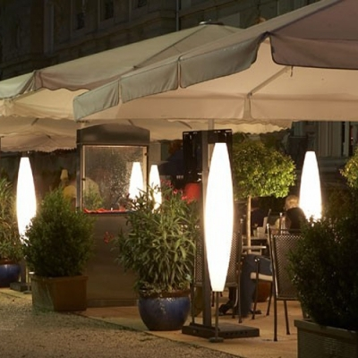 Садовый фонарь Foscarini Havana Outdoor terra (base) giallo (1300 мм)