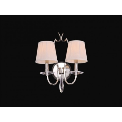 Бра Newport 31200 31202/A Nickel Crystal clear Shade beige