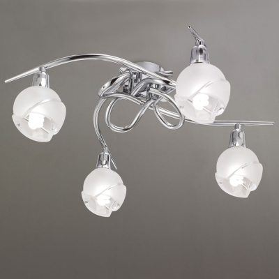 Потолочная люстра Mantra Bali Cromo Ceiling 4 lights 0977 Chrome