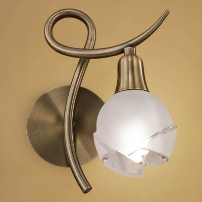 Бра Mantra Bali Cuero 1 light 1225 Antique Brass