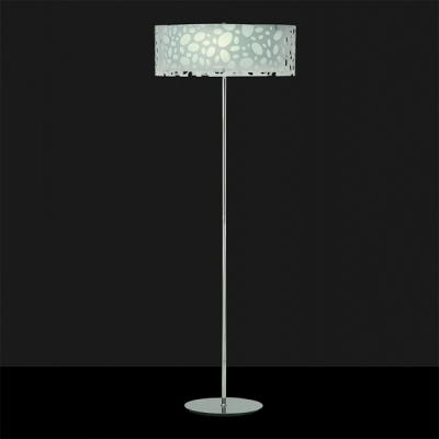 Торшер Mantra Moon Blanco Floor Lamp 4 lights 1368 Chrome + White
