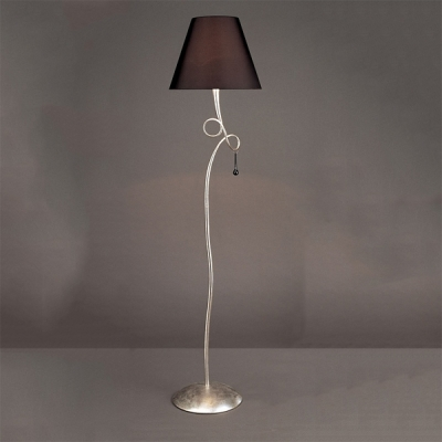 Торшер Mantra Paola Floor Lamp 1 light 3533 Silver Painted
