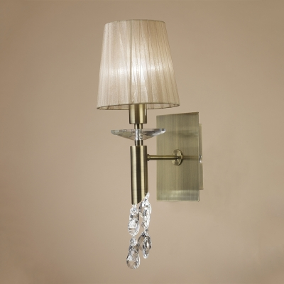 Бра Mantra Tiffany 1+1 lights Big 3884 Antique Brass