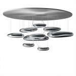 Подвесной светильник Artemide Mercury Suspension LED Dim Inox