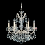 Подвесная люстра Schonbek La Scala Heritage Chandelier 5072 Antique Silver