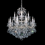 Подвесная люстра Schonbek La Scala Heritage Chandelier 5075 Antique Silver